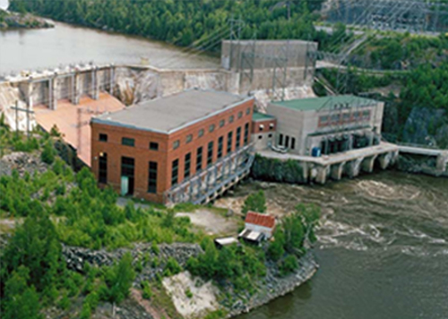 Rapides-des-Quinze Power Plant, Quebec